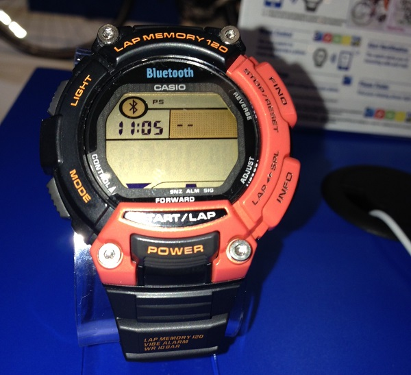 Casio's Sports Gear tracks your workout and has a battery life of 2 years