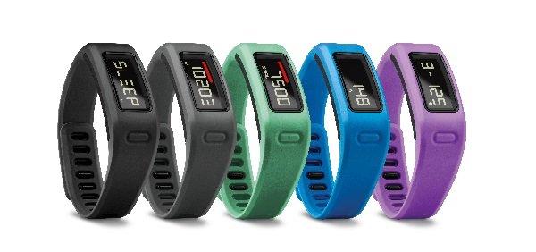 The Vívofit is available in different colors