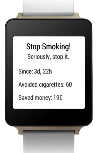 Stop Smoking for wear