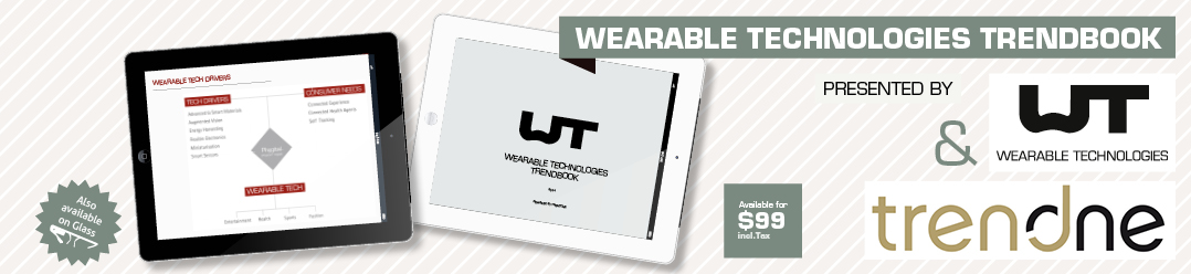 Trends in wearable technologies: the trend book