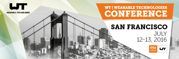 WT I Wearable Technologies Conference 2016 USA_Eventbanner