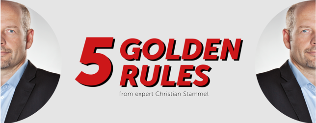 Banner 5 Golden Rules