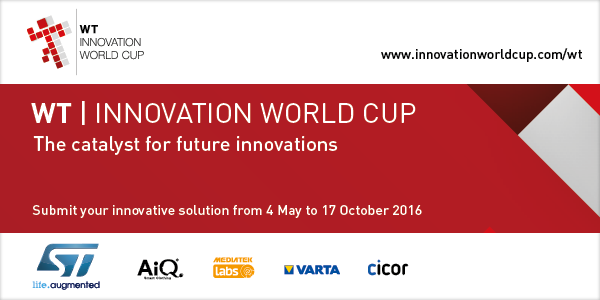 WT Innovation World Cup 2016_17 - Kick-off Banner