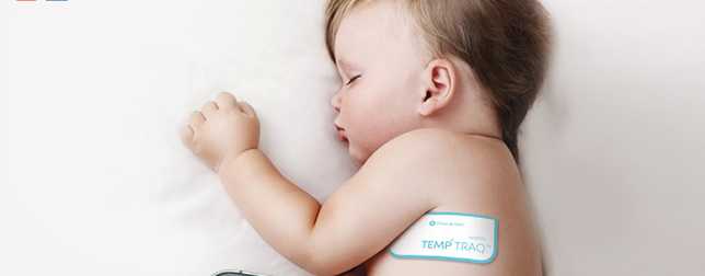 temptraq wearable thermometer