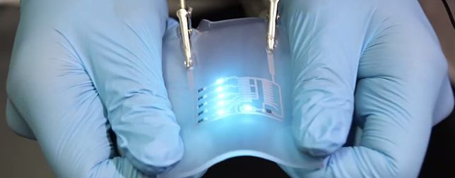 Stretchable bendable circuits