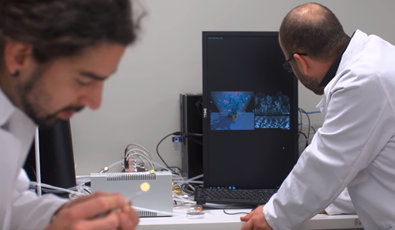 Tiny sensors for medical devices