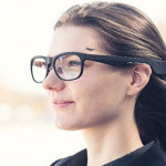 Imec wireless eye tracking glasses