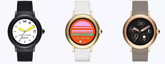 Marc Jacobs Touchscreen Smartwatch Wearable Technologies