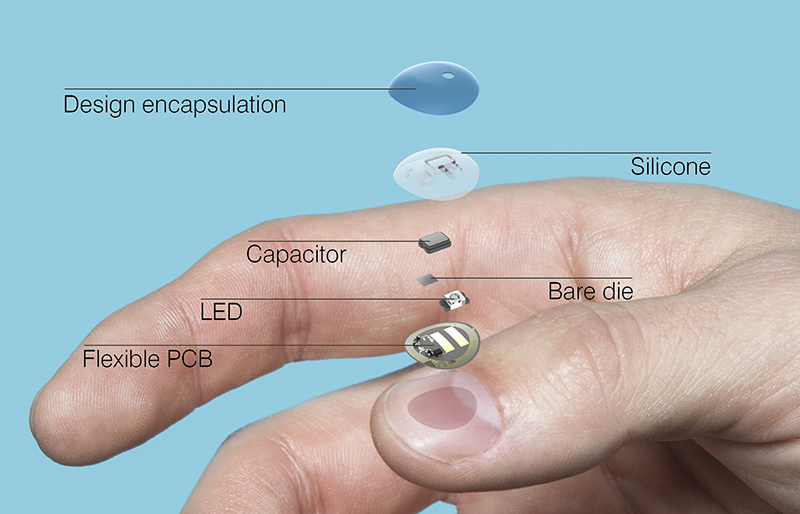 L'Oreal's Batteryless UV Sense Fits On Your Fingernail
