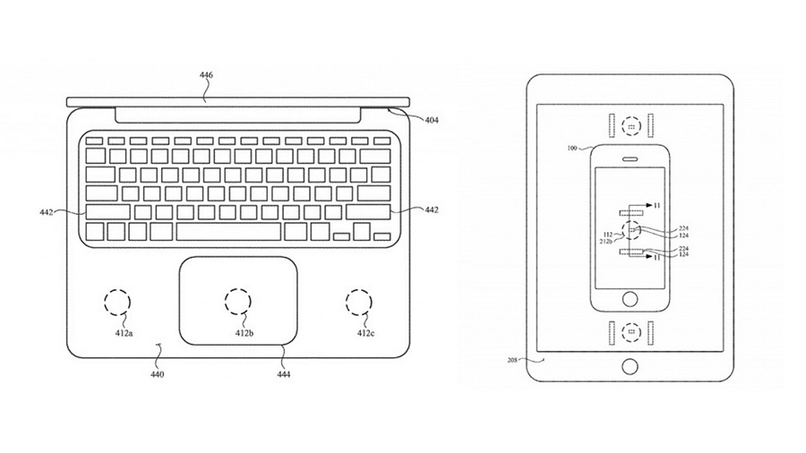 Apple patents charging solution