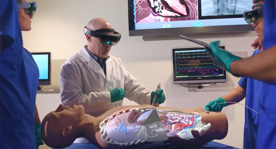 HoloLens in surgeries
