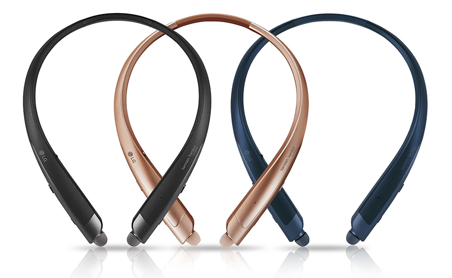 LG tone series headphones