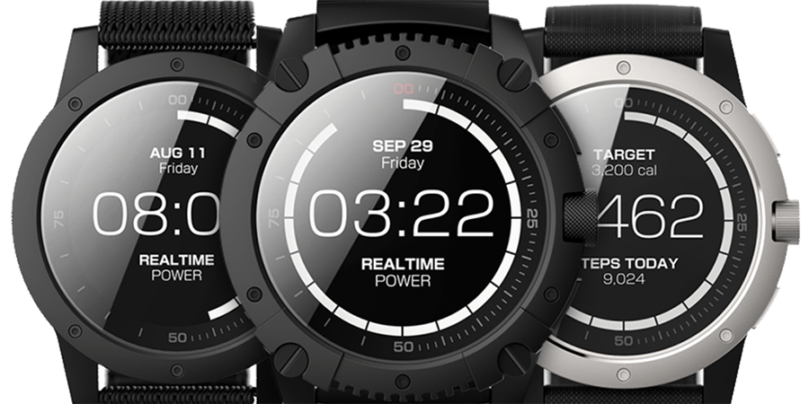 Matrix powerwatch x runs on body heat wearable technologies for Matrix powerwatch