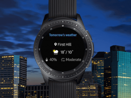 Samsung galaxy wearable app