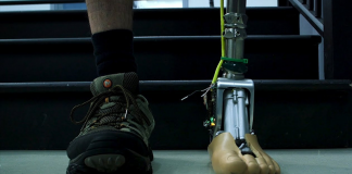 Smart prosthetic ankle