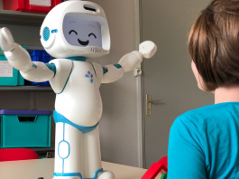 Therapy robot autism