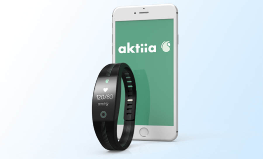 Aktiia blood pressure monitor