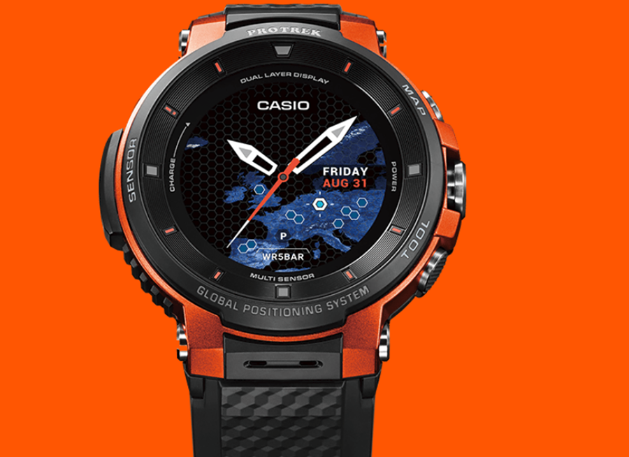casio introduces pro trek wsd f30 wearable technologies