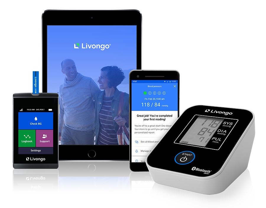 Livongo blood pressure monitor