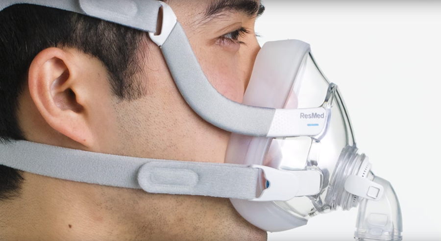 resmed unveils first minimal contact full face cpap mask wearable