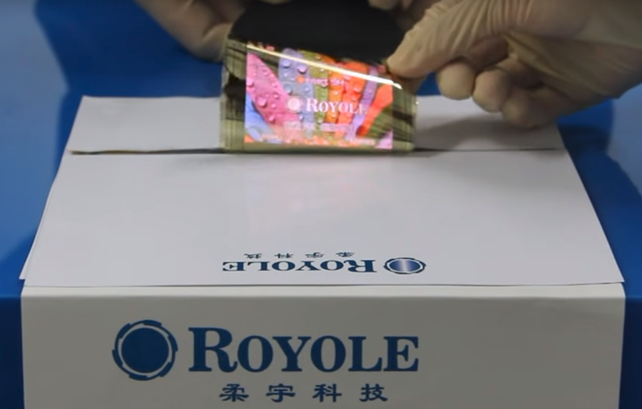 Royole flexible display