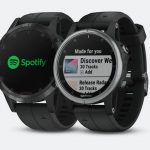 Garmin Fenix 5 plus spotify