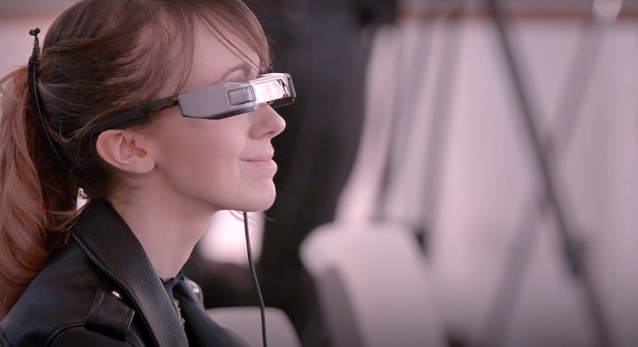 National theater smartglasses