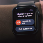 Wearable devices fall risk