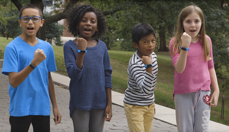 Kids fitness trackers