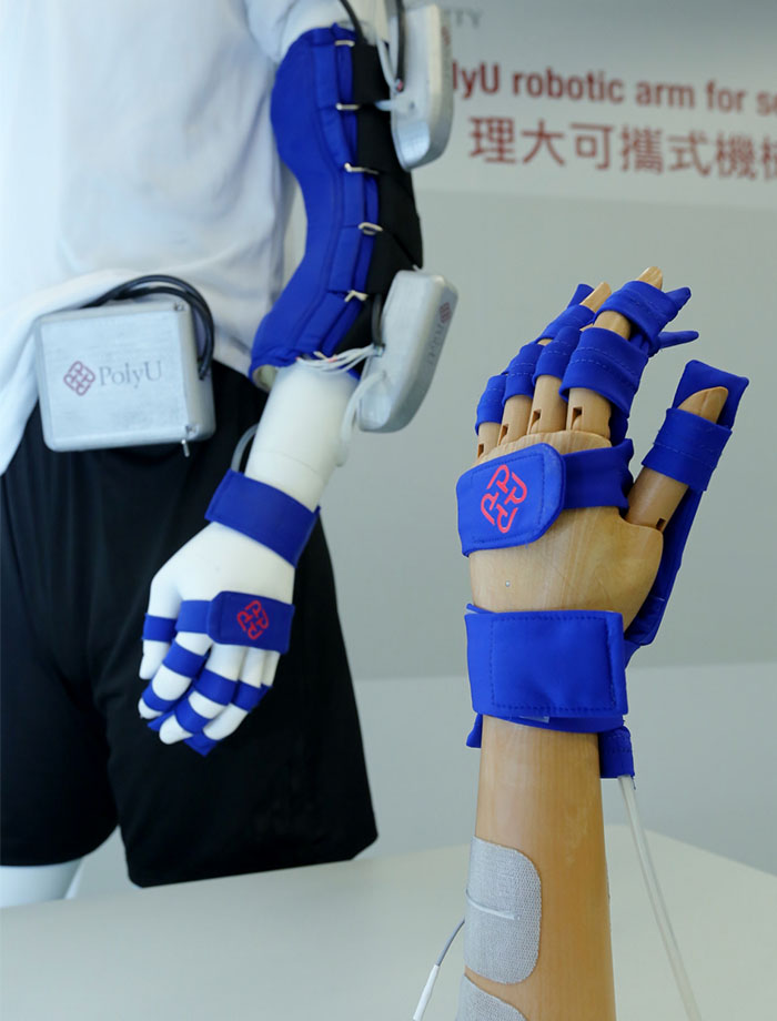 Robotic arm stroke patients