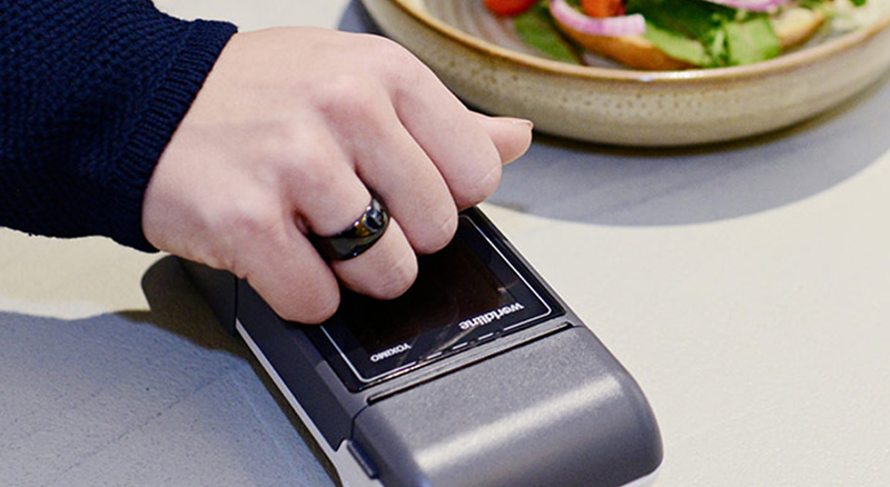 Contactless payment ring