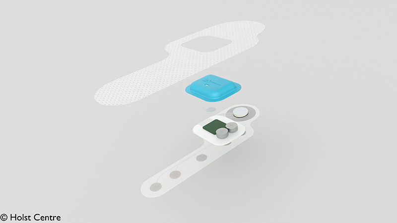 Imec, TNO Unveil Disposable Health Patch with Non-Toxic Battery that Runs for Over a Week