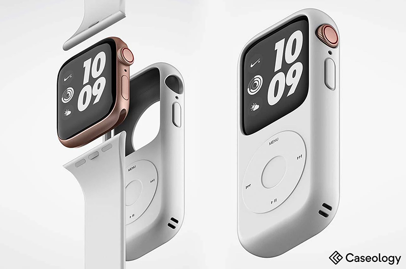 premium selection f4834 23d79 Caseology Debuts Two Apple Watch 4 Cases | Wearable Technologies
