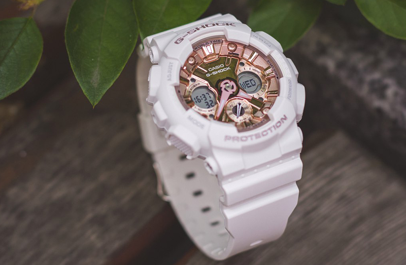 2281c4378d The GMAS120 lifestyle models also boast top-line features including  magnetic resistance and a speed indicator. All of the models come equipped  with G-SHOCK ...