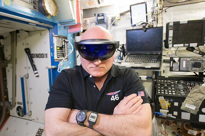 HoloLens at the ISS