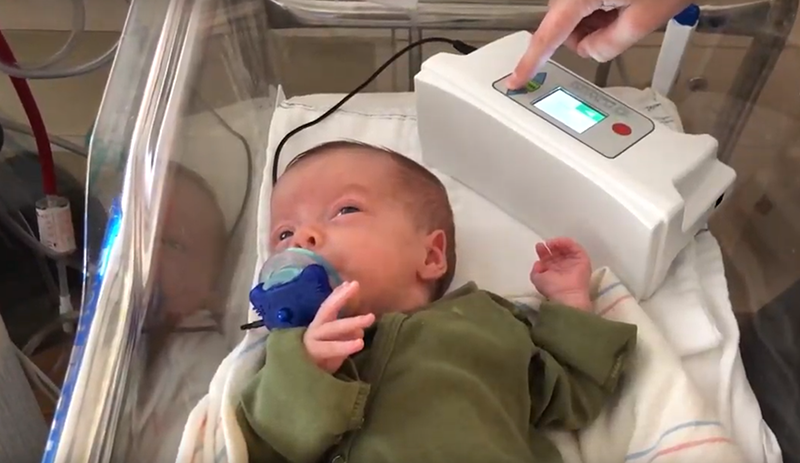 Pacifier activated lullaby