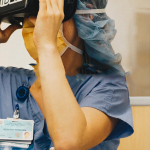 VR app for surgery education