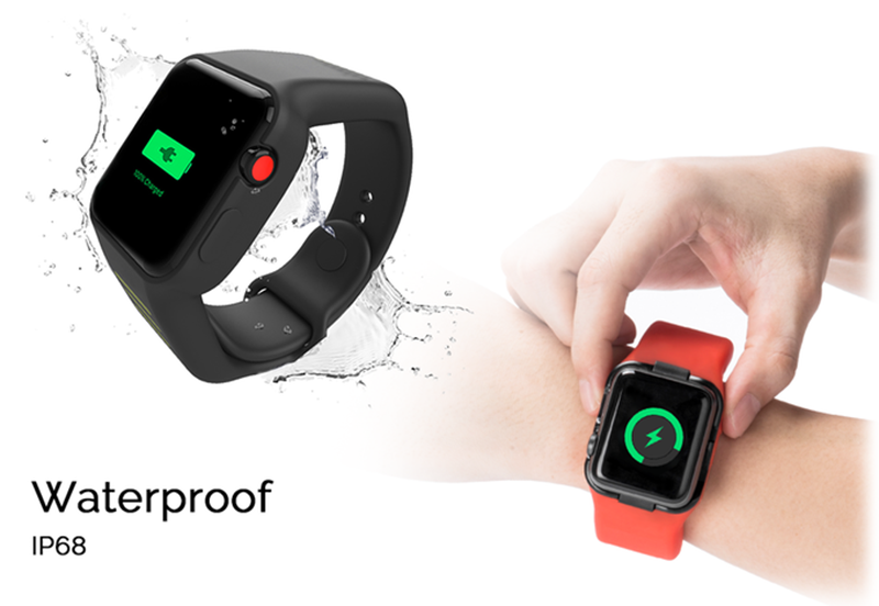 Power strap provides additional battery life for Apple Watches