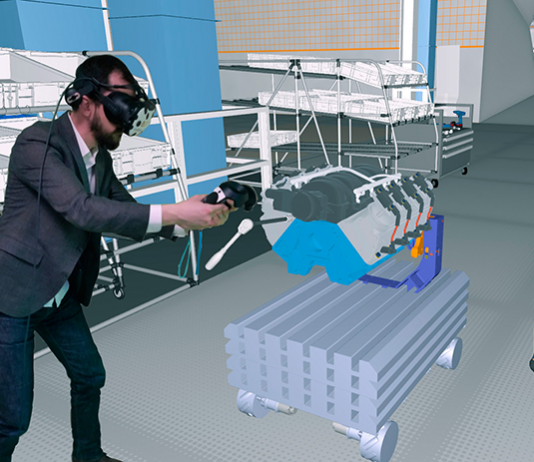 ESI Diota joint AR VR Solutions