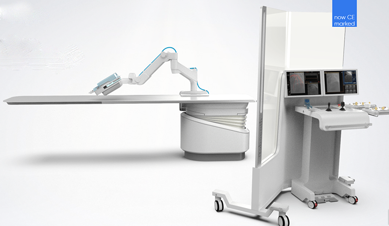 R One Robotic assisted angioplasty