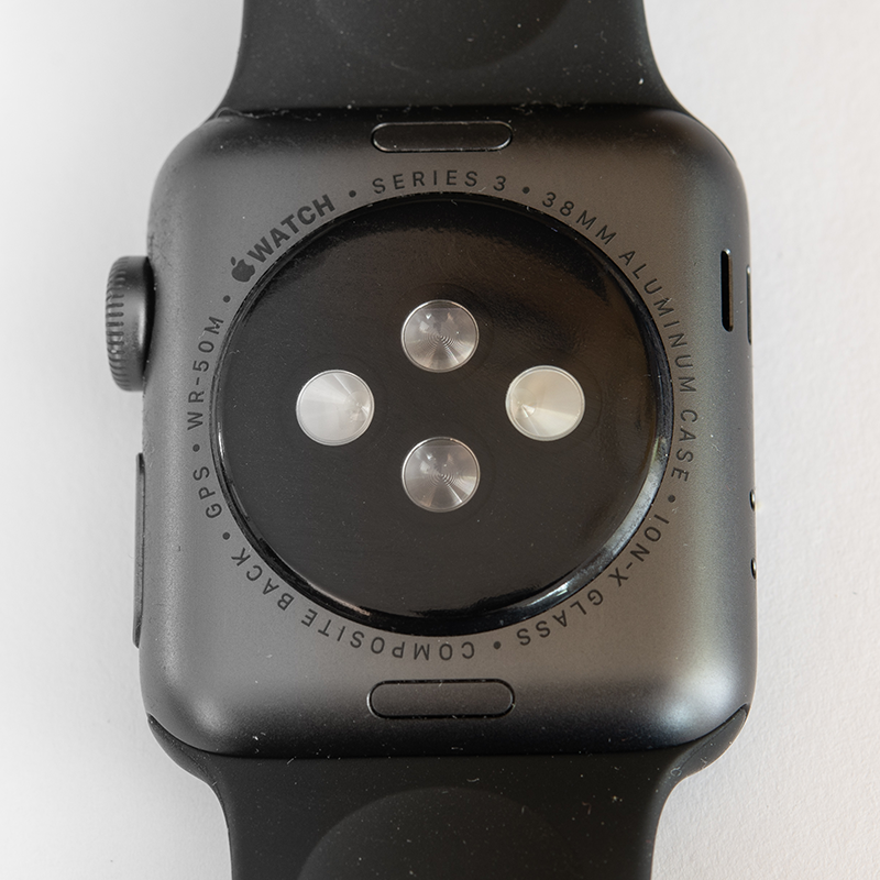 Sensors on an Apple Watch