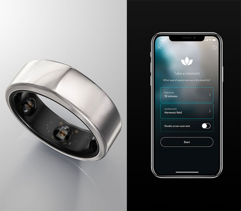 smart ring and app