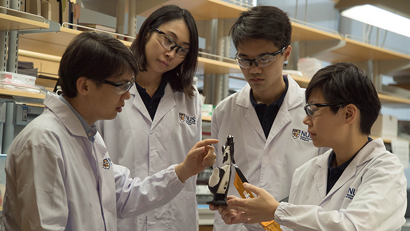 NUS Scientists Develop Electronic Skin with Exceptional Sense of Touch for Prosthetics
