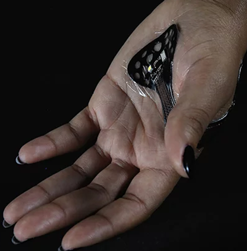 Carnegie Mellon Researchers Develop Flexible Wearable Patch That Sticks to the Skin Like a Band-Aid
