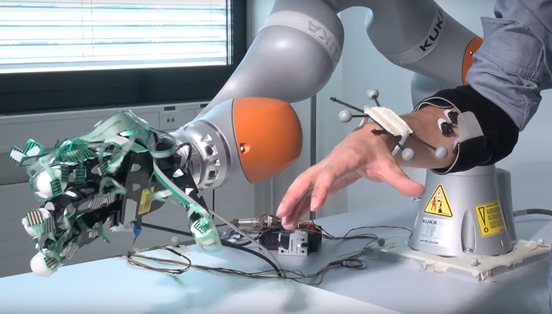EPFL Smart Robotic hand