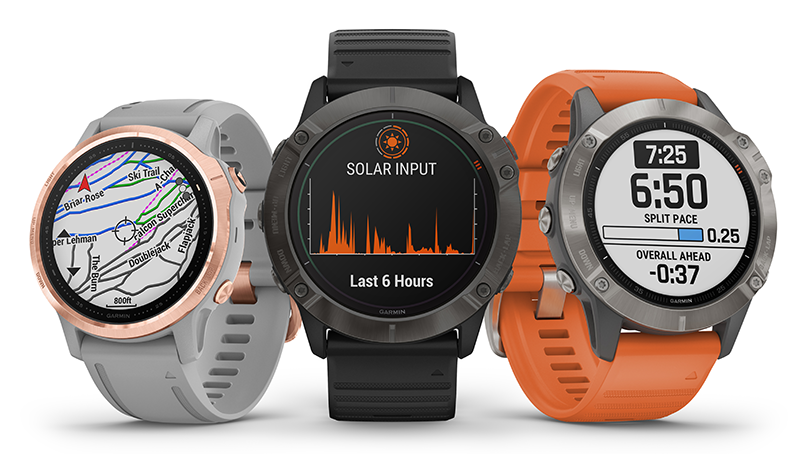 Garmin Launches Fenix 6 With Solar Power | Wearable Technologies