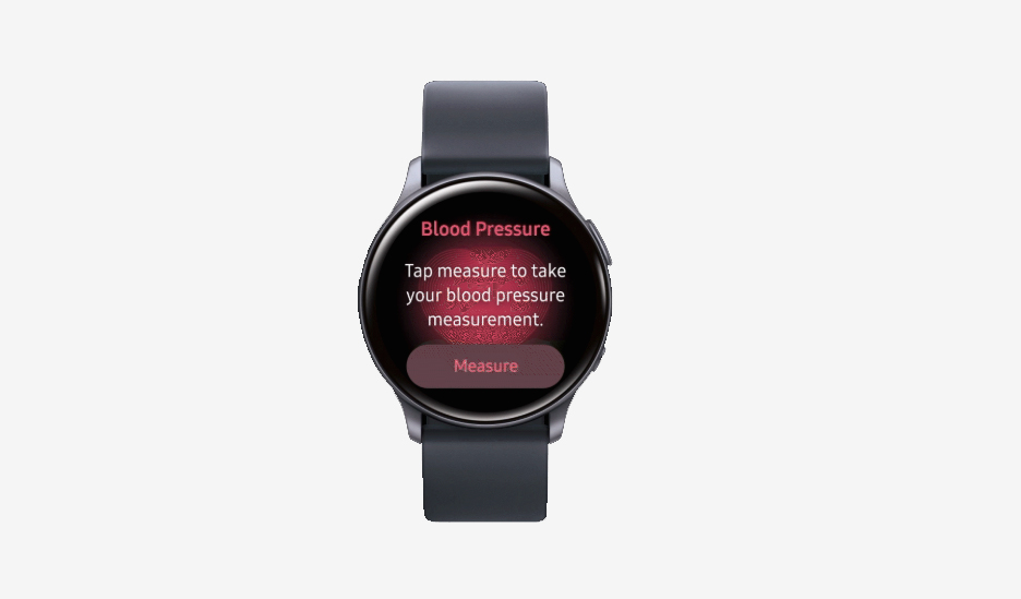 Galaxy Watch Active2 blood pressure