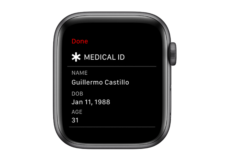 Apple Share Medical ID During Emergency Calls