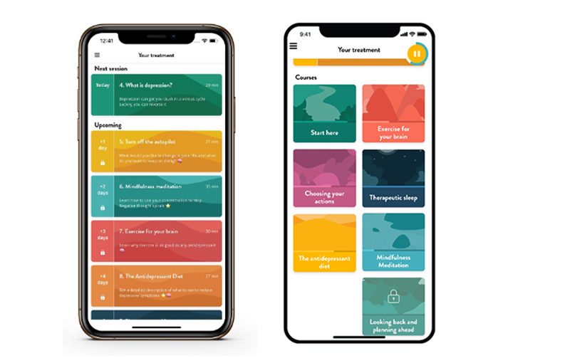 NHS Can recommend Flow app for depression