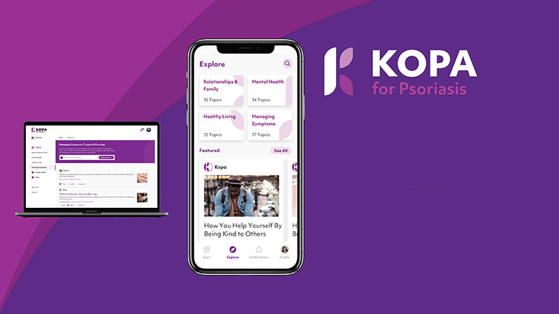 Happify Kopa for psoriasis